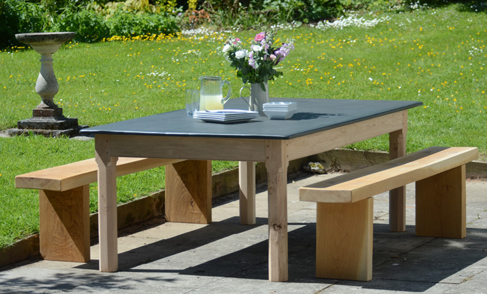Customers Gallery Of Slate Top Tables