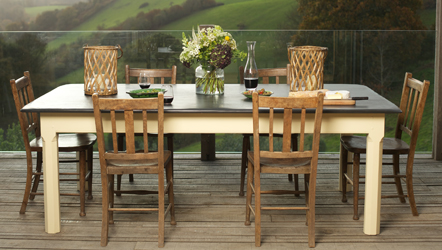 dining tables slate top farmhouse kitchen table rh slatetoptables com slate kitchen table sets