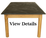Oak Farmhouse Table Large Slate Top
