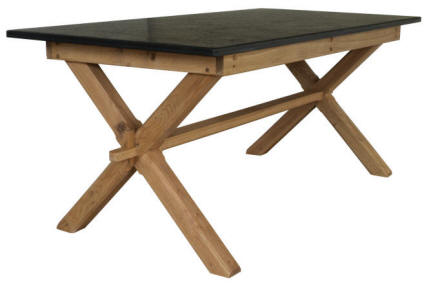 Oak Garden Table & Patio Tables