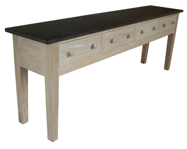 Oak console tables with storage cool branson oak storage for Table under tv
