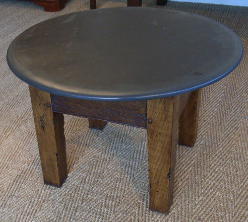 Round Slate Top Coffee Table Best Home Design 2018